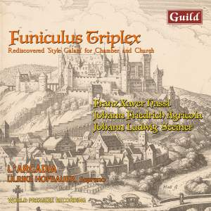 Funiculus Triplex - Rediscovered 'Style Galant' for Chamber and Church Product Image