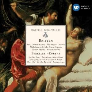 Britten, Berkeley & Rubbra