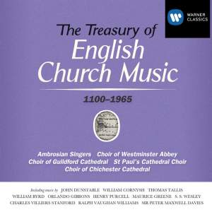 The Treasury of English Church Music Product Image