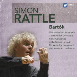 Simon Rattle conducts Bartók