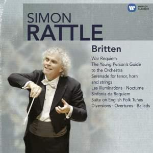Simon Rattle conducts Britten