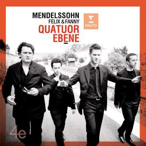 Quatuor Ebène play Felix and Fanny Mendelssohn Product Image