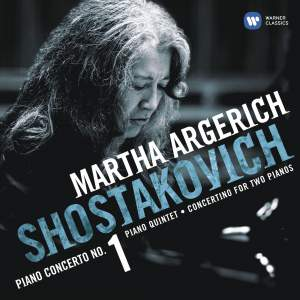 Shostakovich: Piano Concerto No. 1 in C minor for piano, trumpet & strings, Op. 35, etc.