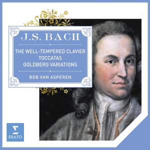 JS Bach: Well-Tempered Clavier, Goldberg Variations & Toccatas