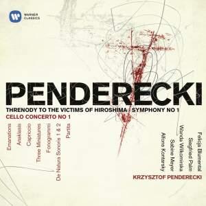 Penderecki: Threnody to the Victims of Hiroshima & Symphony No. 1