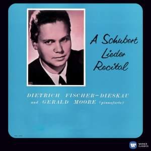 Schubert Lieder Recital, Vol. 1