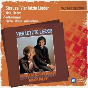 Strauss: Vier letzte Lieder & Orchesterlieder