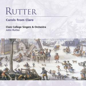 Rutter - Carols from Clare Product Image