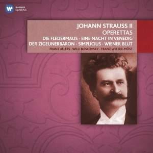 Johann Strauss: Operettas