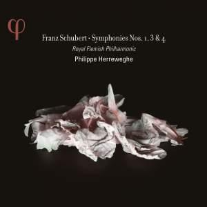 Schubert: Symphonies Nos. 1, 3 & 4 Product Image