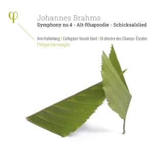 Brahms: Symphony No. 4, Alto Rhapsody & Schicksalslied Product Image