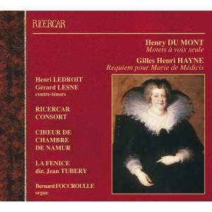 Henry du Mont & Gilles Henri Hayne: Choral Works
