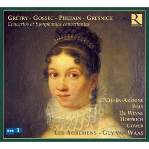 Grétry, Gossec, Pieltain, Gresnick: Concertos & Symphonies concertantes