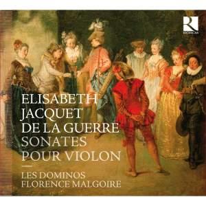 Elisabeth Jacquet de la Guerre: Sonatas for violin and basso continuo Product Image