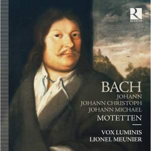 J Bach, JC Bach & JM Bach: Motetten