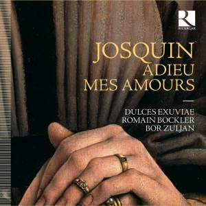 Josquin: Adieu Mes Amours Product Image