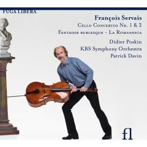 François Servais: Cello Concertos