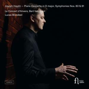 Haydn: Piano Concerto in D major & Symphonies Nos. 80 & 81 Product Image