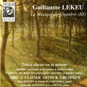 Lekeu: La musique de chambre III