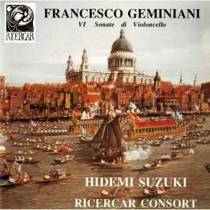 Geminiani: VIe sonate di violoncello