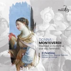 Monteverdi: Madrigali e motetti a due voci femminili Product Image