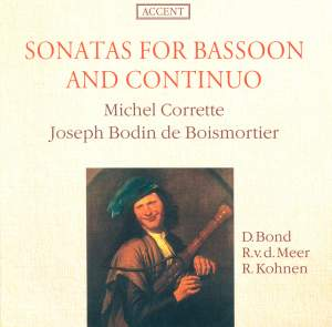 Boismortier & Michel Corrette: Sonatas for Bassoon and Continuo