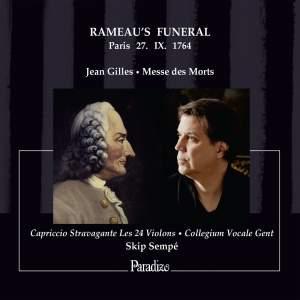 Jean Gilles: Rameau's Funeral (Paris 27 IX 1764) Product Image