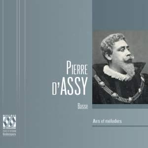 Pierre d'Assy: Airs et mélodies
