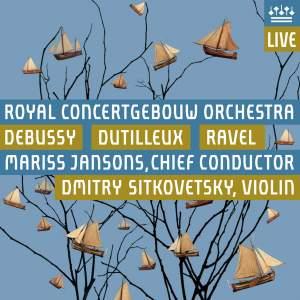 Dutilleux, Debussy & Ravel