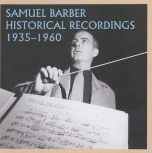 Samuel Barber: Historical Recordings 1935-1960 Product Image
