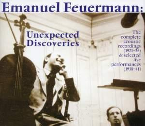 Emanuel Feuermann: Unexpected Discoveries