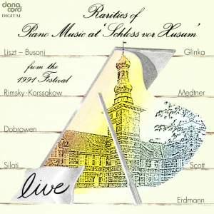 Rarities of Piano Music at the Husum Festival 1991