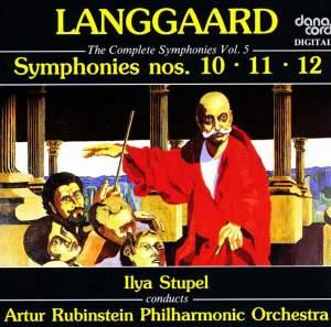 Langgaard: Symphonies 10-12