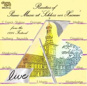 Rarities of Piano Music at the Husum Festival 1994