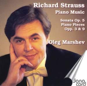 Richard Strauss: Piano Music