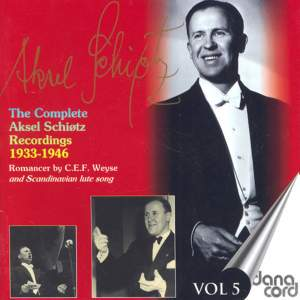 Aksel Schiotz: The Complete Recordings Vol. 5