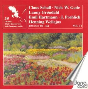 Danish Violin Concertos Volume 2