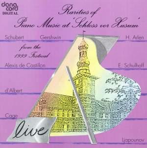 Rarities of Piano Music at the Husum Festival 1999