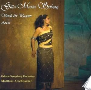 Gitta-Maria Sjoberg Sings Verdi & Puccini Arias