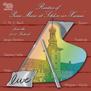 Rarities of Piano Music at the Husum Festival 2010