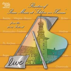 """Rarities of Piano Music at """"Schloss vor Husum"""" from the 2016 Festival"""
