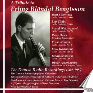 Erling Blöndal Bengtsson: The Danish Radio Recordings, Vol. 3