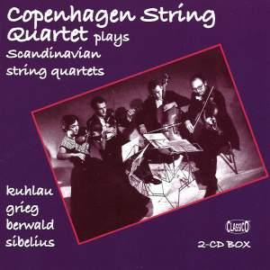 Copenhagen String Quartet plays Scandinavian String Quartets