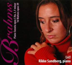 Brahms: Piano Sonata No. 3 & 16 Waltzes Product Image