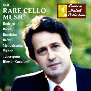 Simca Heled Collection, Vol. 1: Rare Cello Music