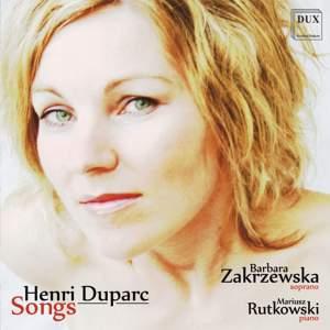 Pieśni: Songs by Henri Duparc