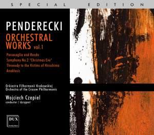 Penderecki: Orchestral Works Vol. 1