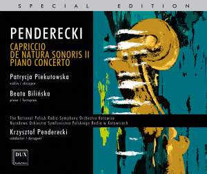 Penderecki: Capriccio for violin & orchestra Product Image
