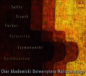 University of Warsaw Choir sing Tallis, Sisask, Szymanowski and others