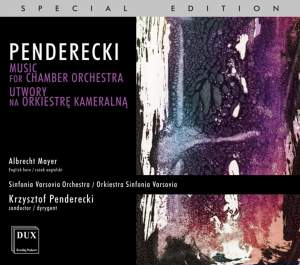 Penderecki: Music for Chamber Orchestra Product Image